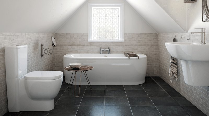Rénovation de sol de salle de bain