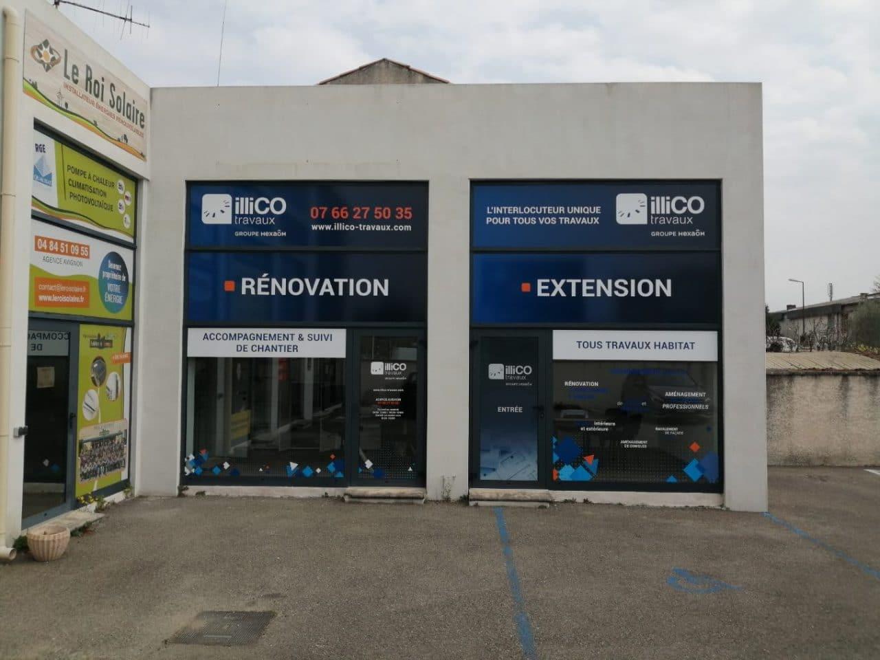 illiCO travaux Avignon - agence