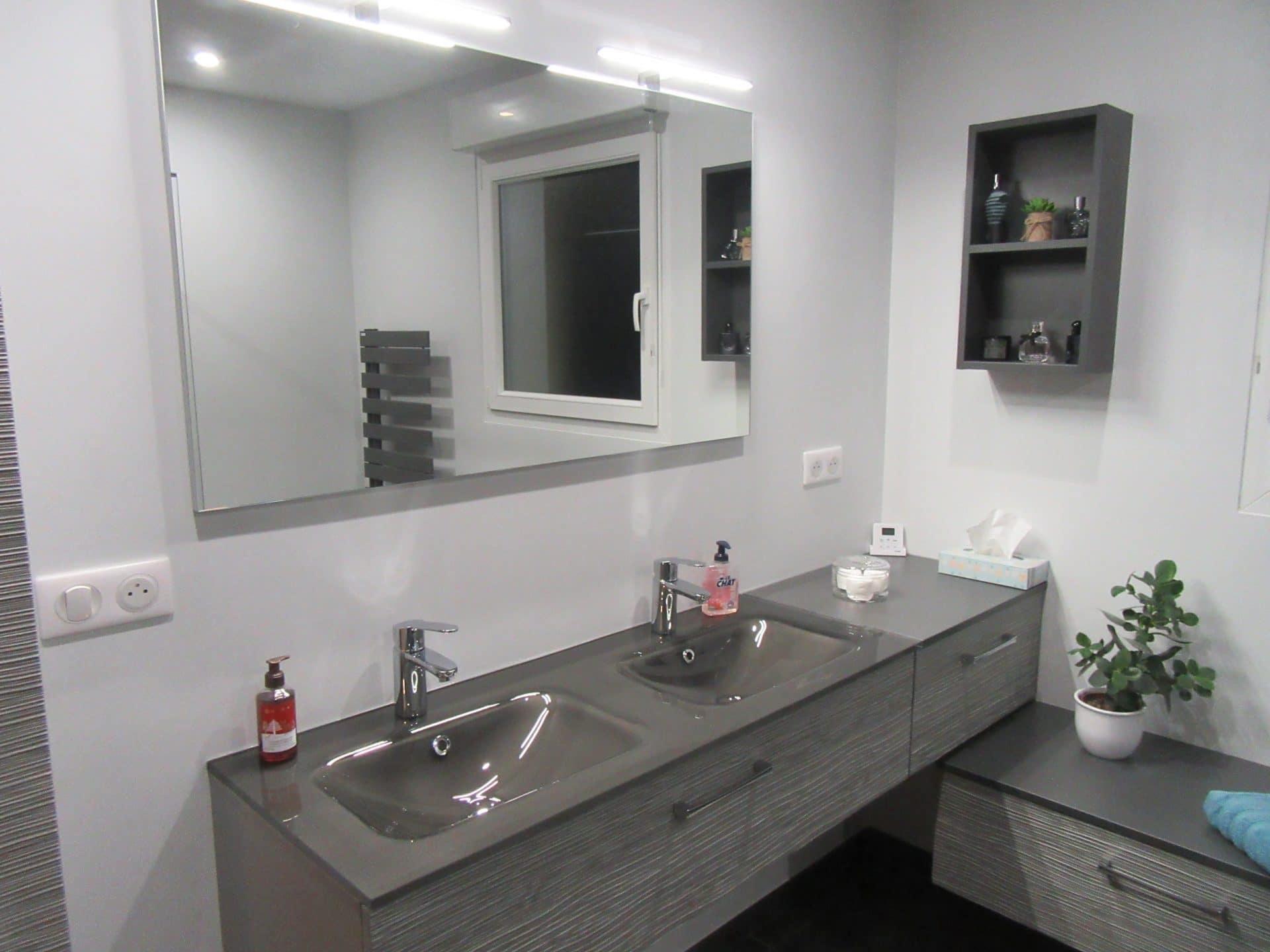 Rénovation d'une salle de bains à Nancy (54)
