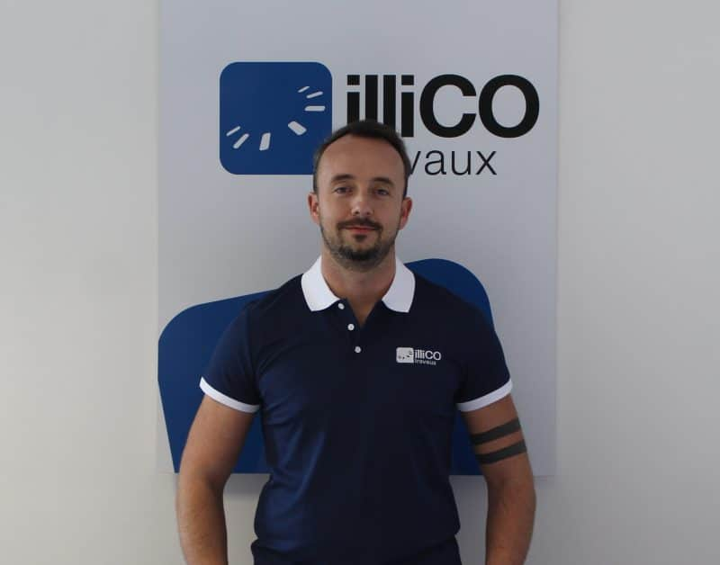 Julien Quarantes responsable illiCO travaux Amiens