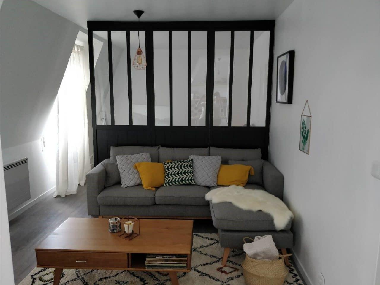 rénovation appartement avec verriere
