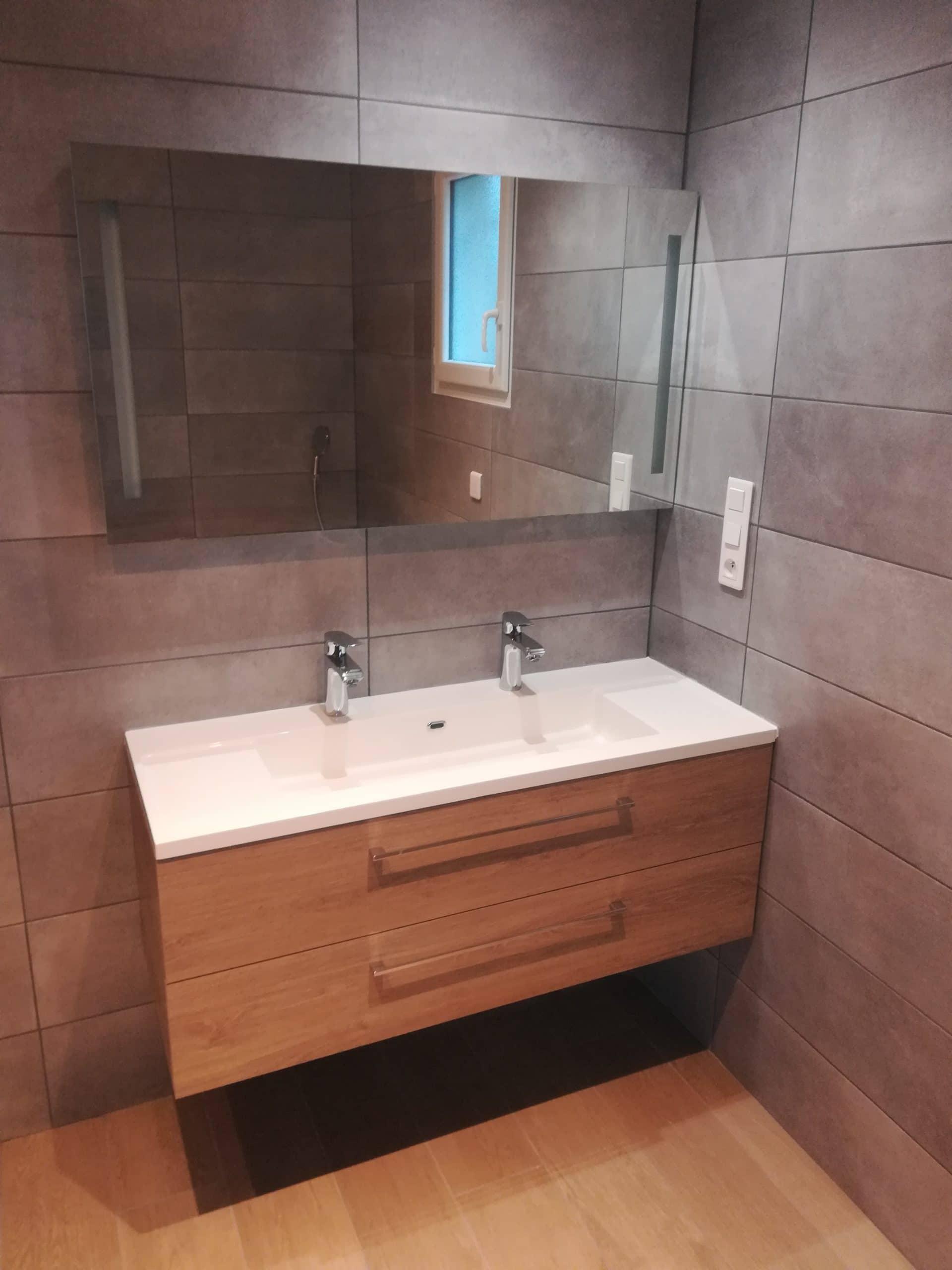 Rénovation de salle de bain à Ampuis (69)