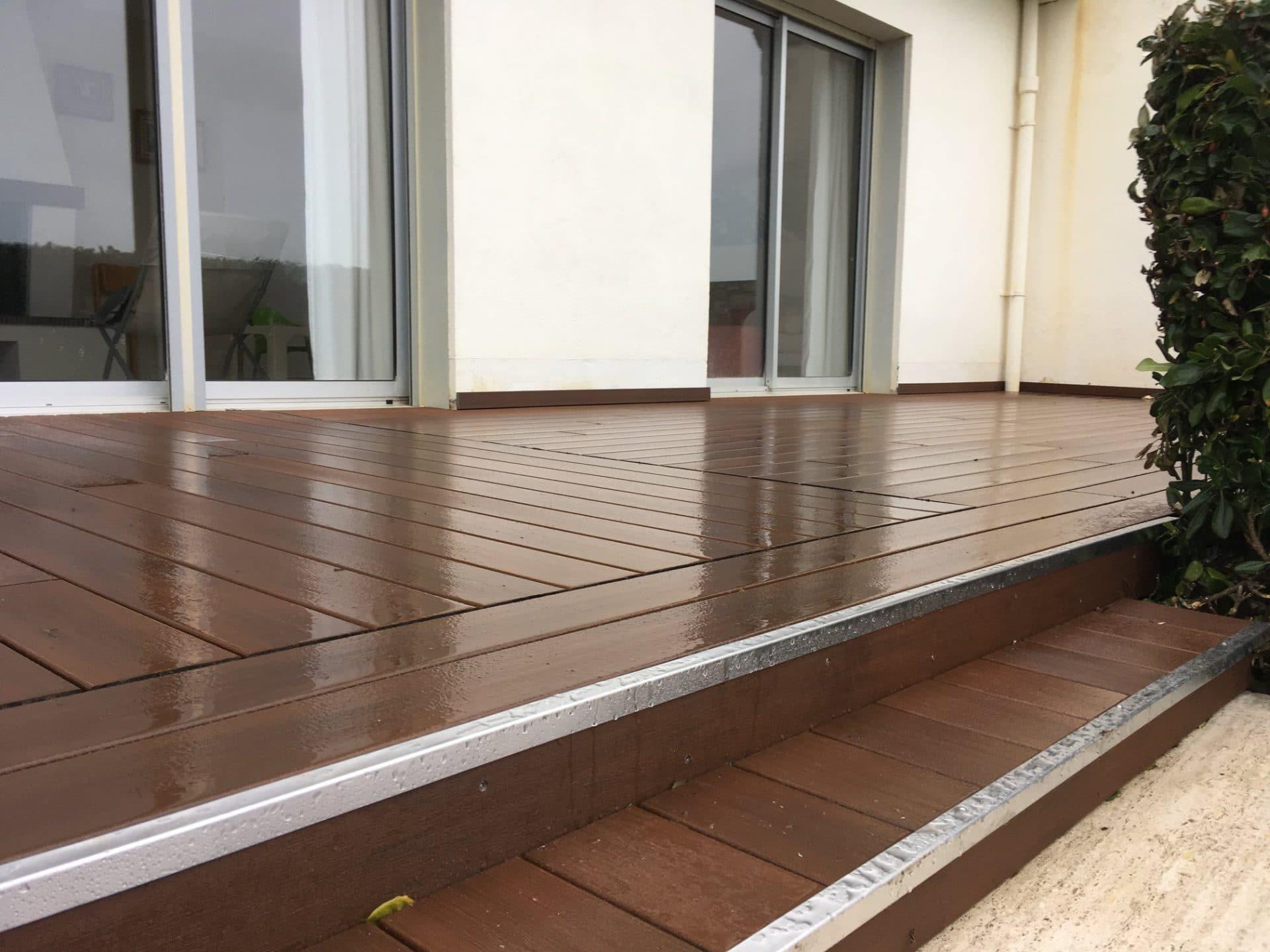 Rénovation de terrasse à Vannes (56)