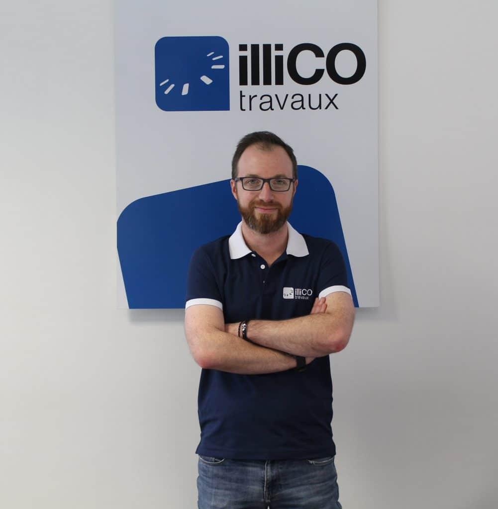 Photo d'Antoine Lemay, responsable illiCO travaux à Saint Omer