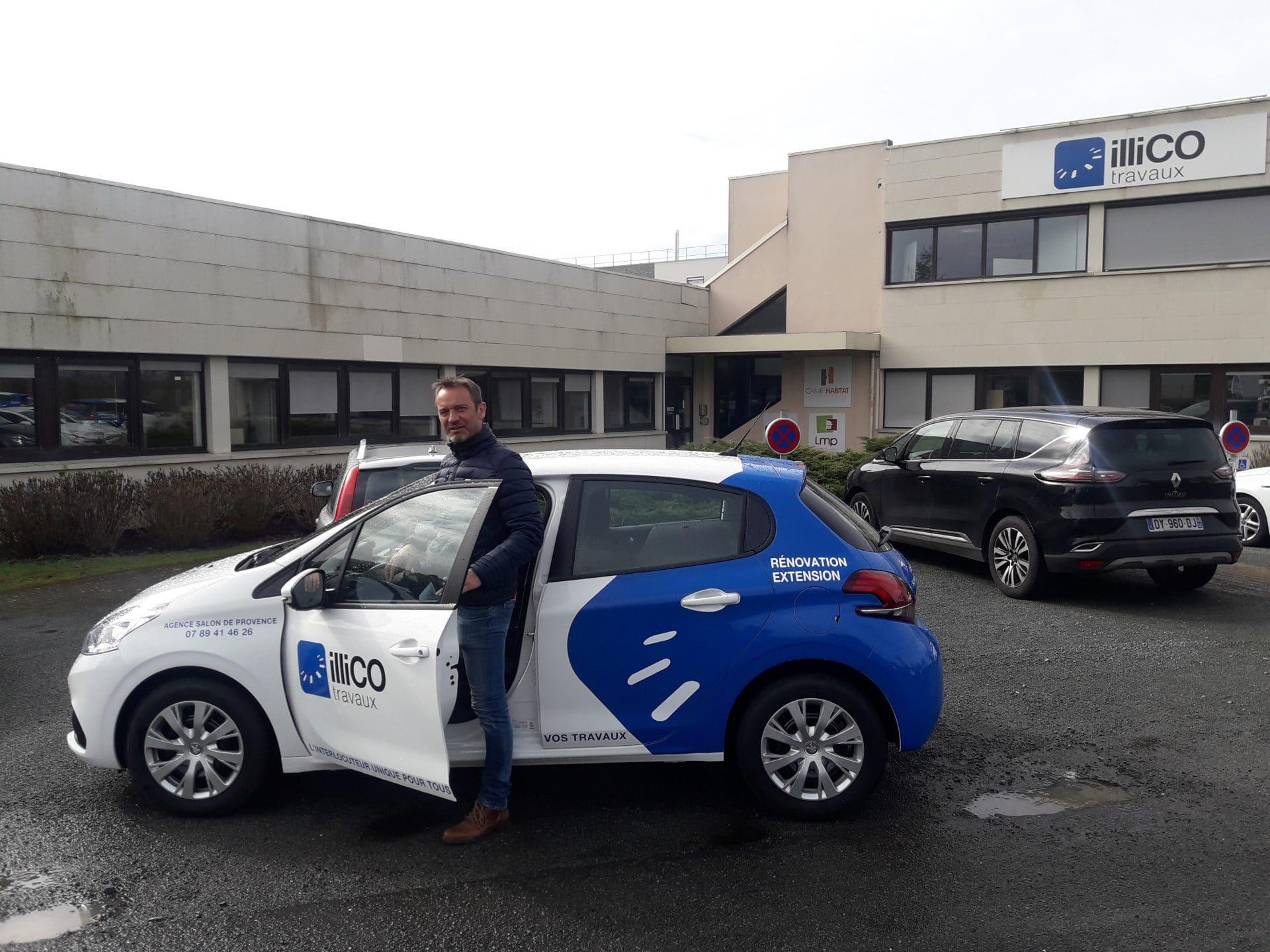 Nouveauté : une agence illiCO travaux ouvre à Salon de Provence