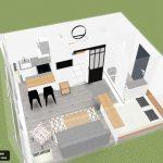 rénovation d'appartement en vue d'une location - Talence