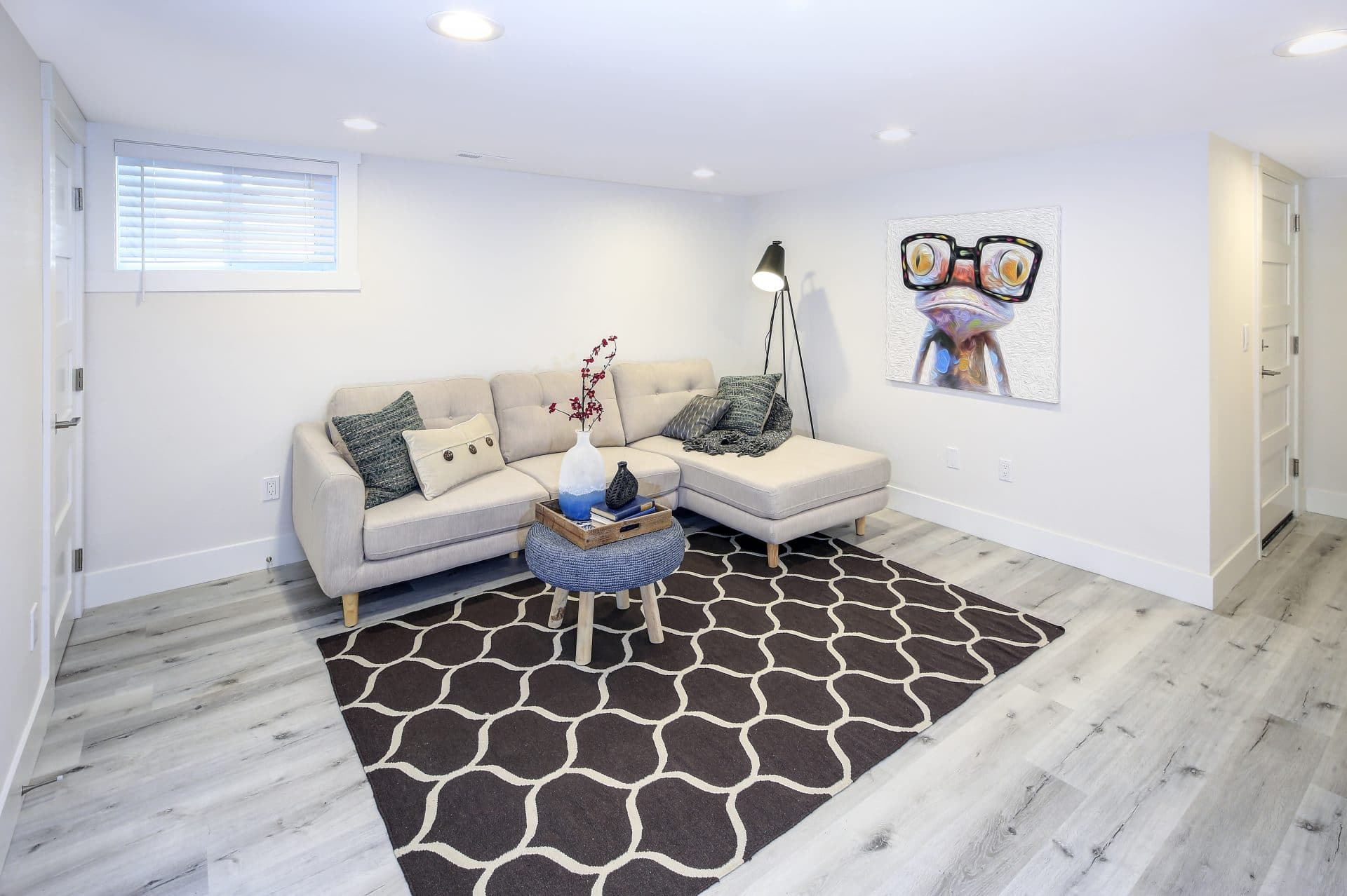 Rénovation sous-sol de maison