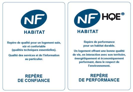 NF Habitat et NF Habitat HQE