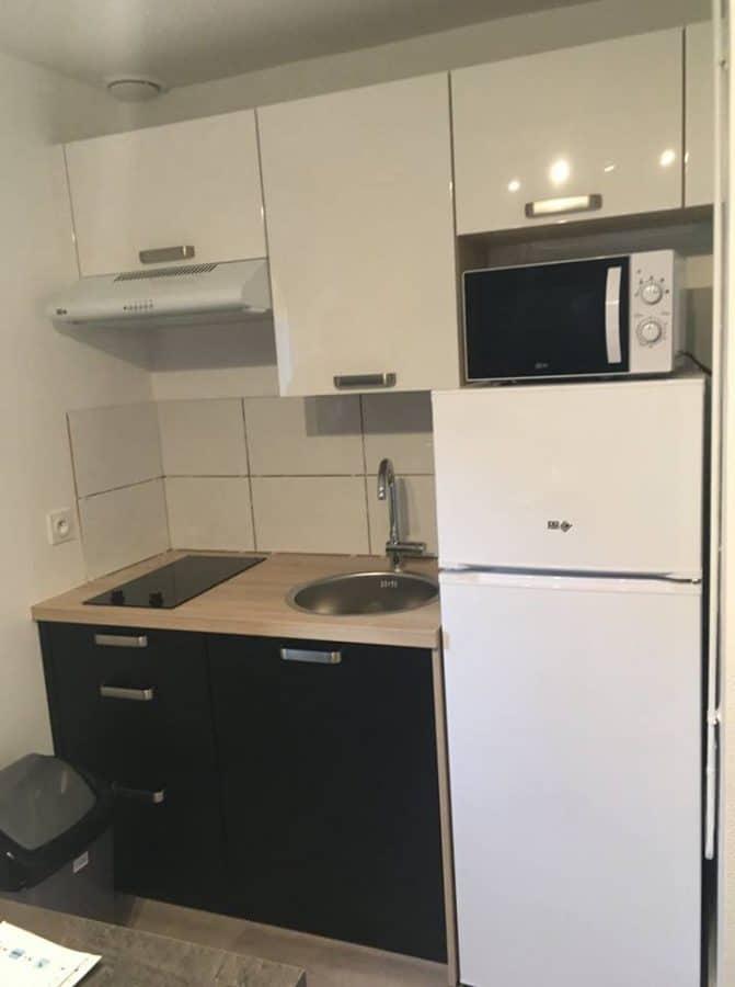 Rénovation d'appartements à Locminé cuisine
