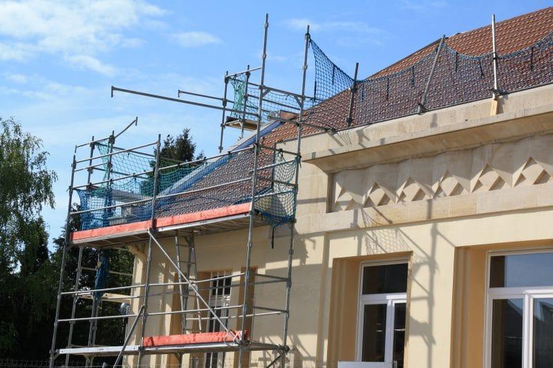 rénovation de façade permis de construire