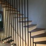 rénovation de maison à Nantes escalier