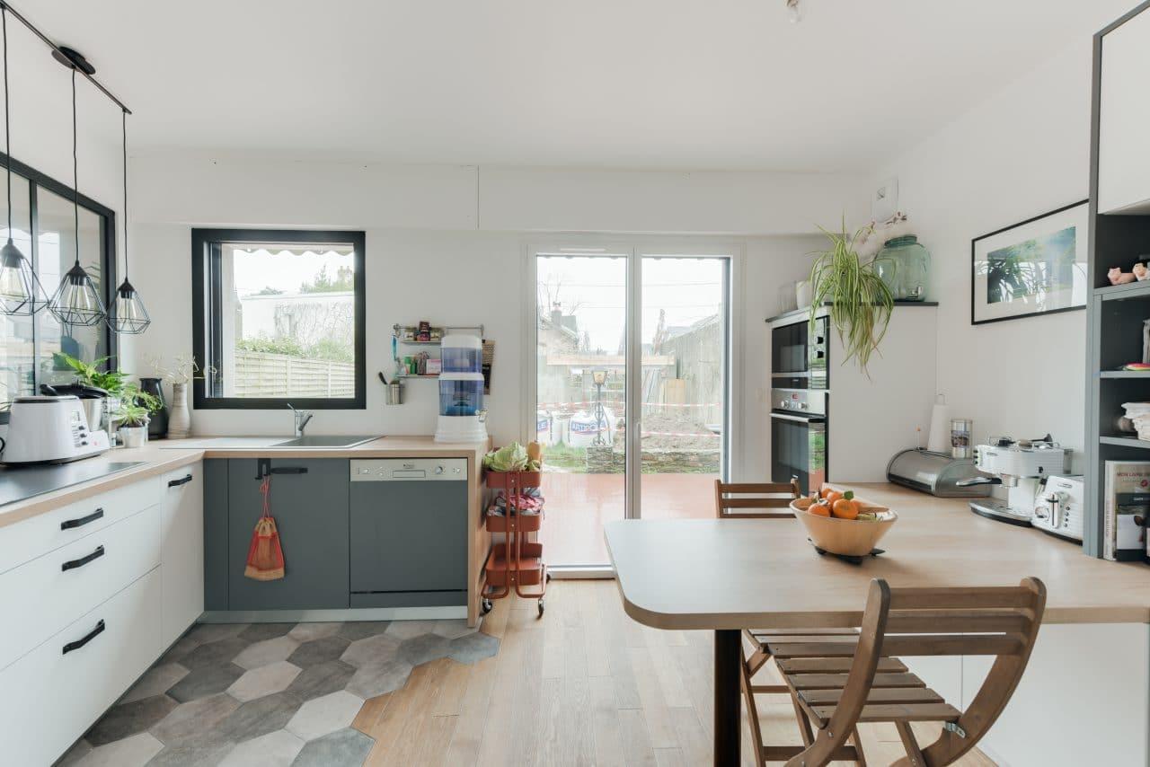 rénovation maison Nantes - rénovation cuisine