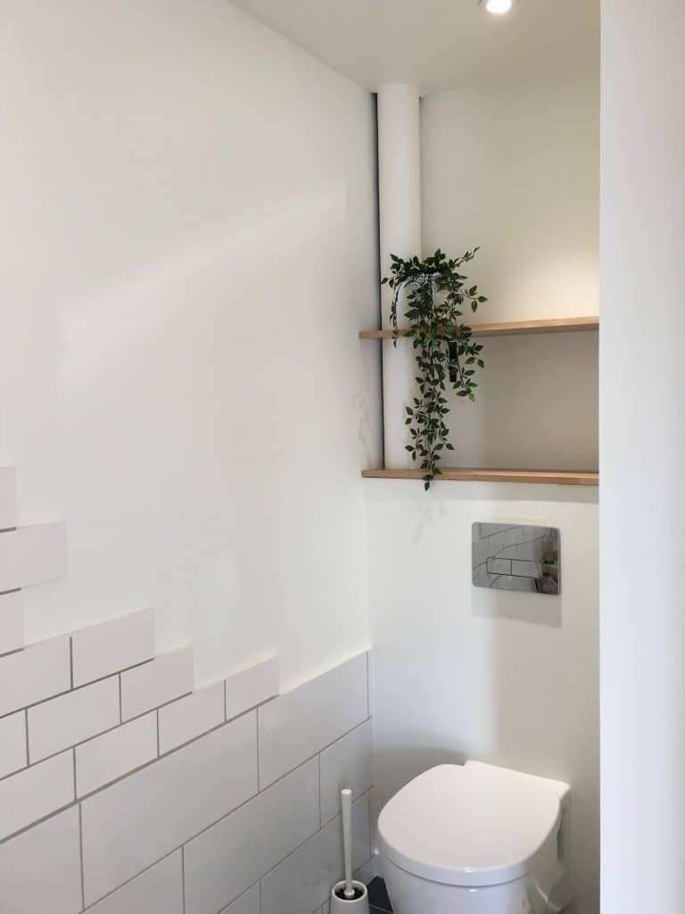 Rénovation d'un studio à Bordeaux Est wc