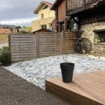 rénovation d'une terrasse à Saint-Martin d'Uriage