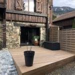rénovation d'une terrasse à Saint-Martin d'Uriage