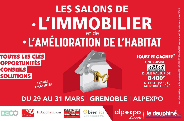 Rencontrez illiCO travaux au Salon de l'Immobilier et de l'Aménagement de l'Habitat de Grenoble