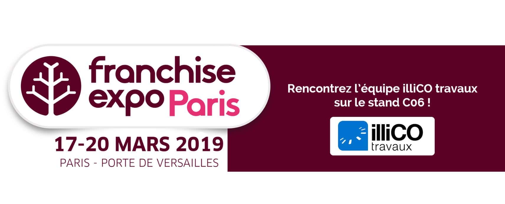 Salon Franchise Expo de Paris : illiCO travaux vous attend !