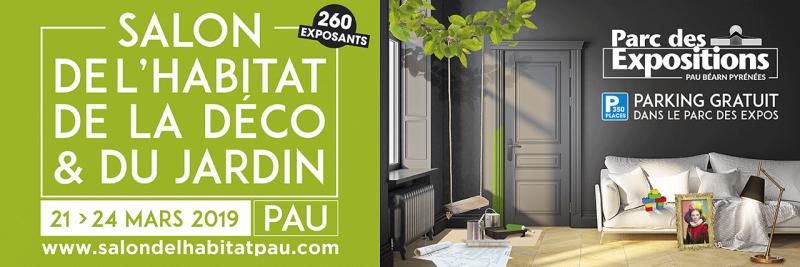 Salon de l'Habitat de Pau affiche