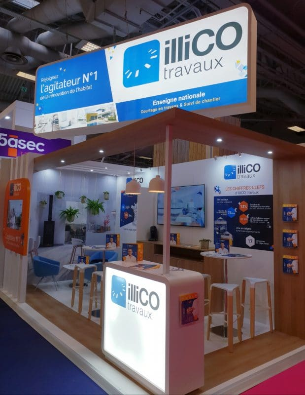 stand illiCO travaux franchise expo paris