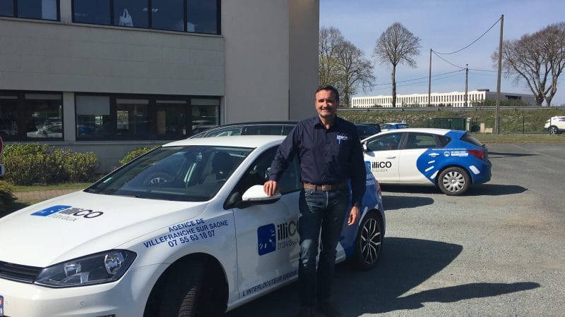 Bruno Boucheron responsable de l'agence illiCO travaux Villefranche sur Saône
