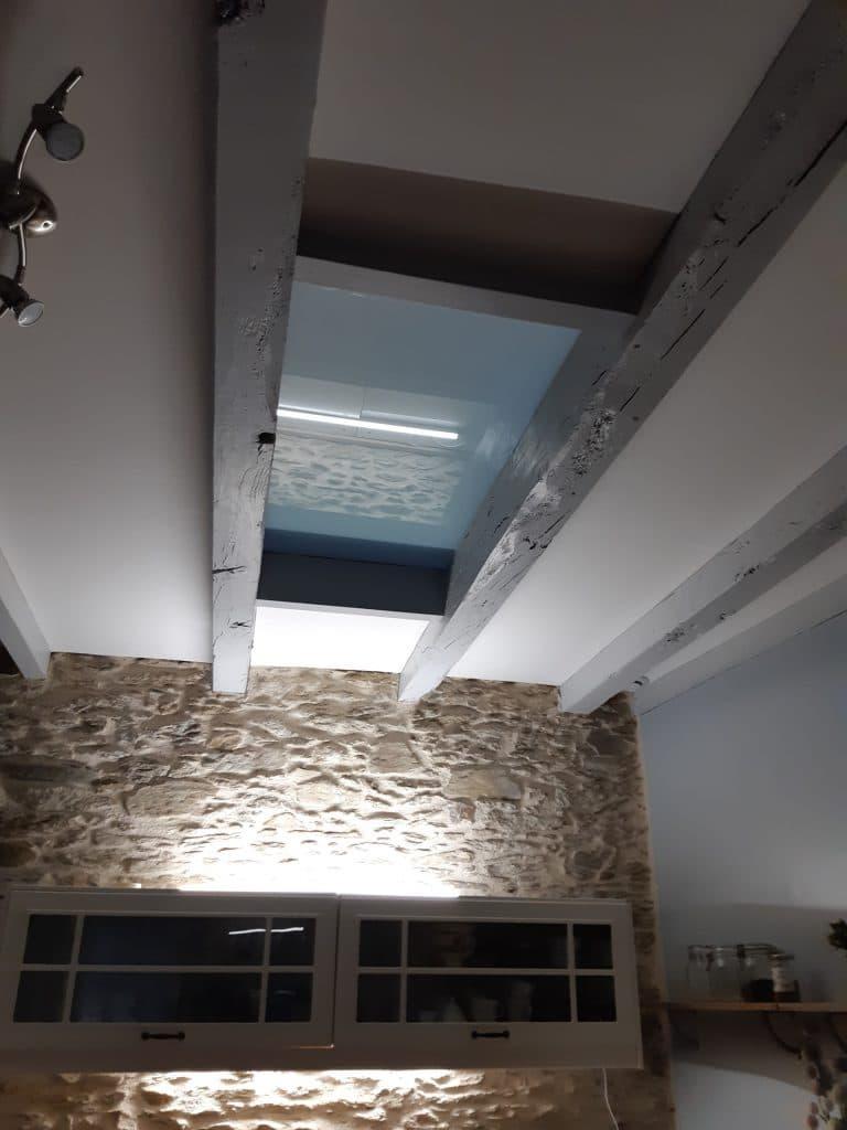 Réalisation d'un plancher de verre dans une maison à Vertou (44)
