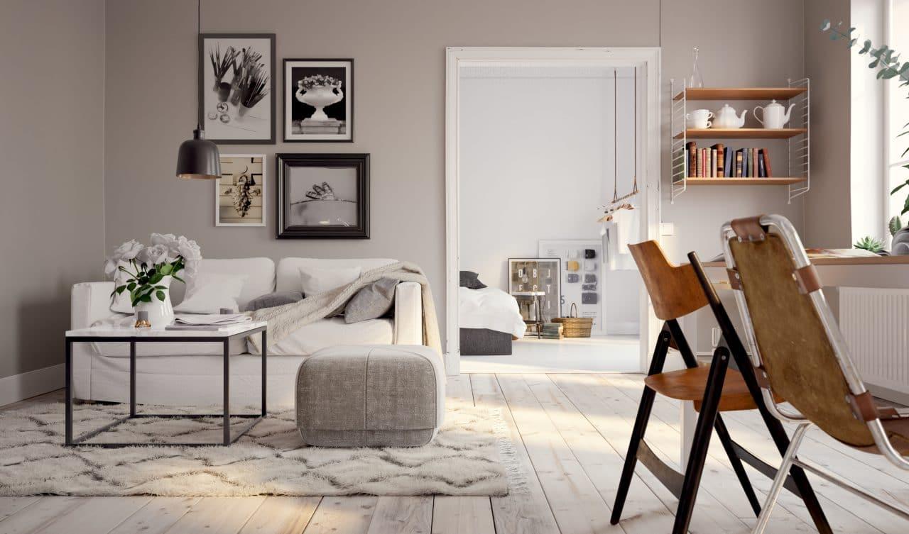 rénovation tendance d'un appartement