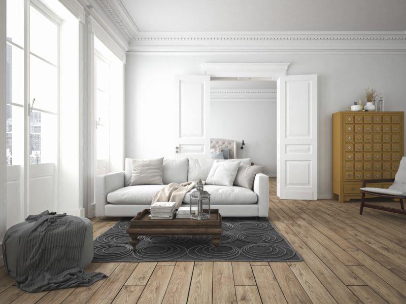 rénovation des pices d'un appartement