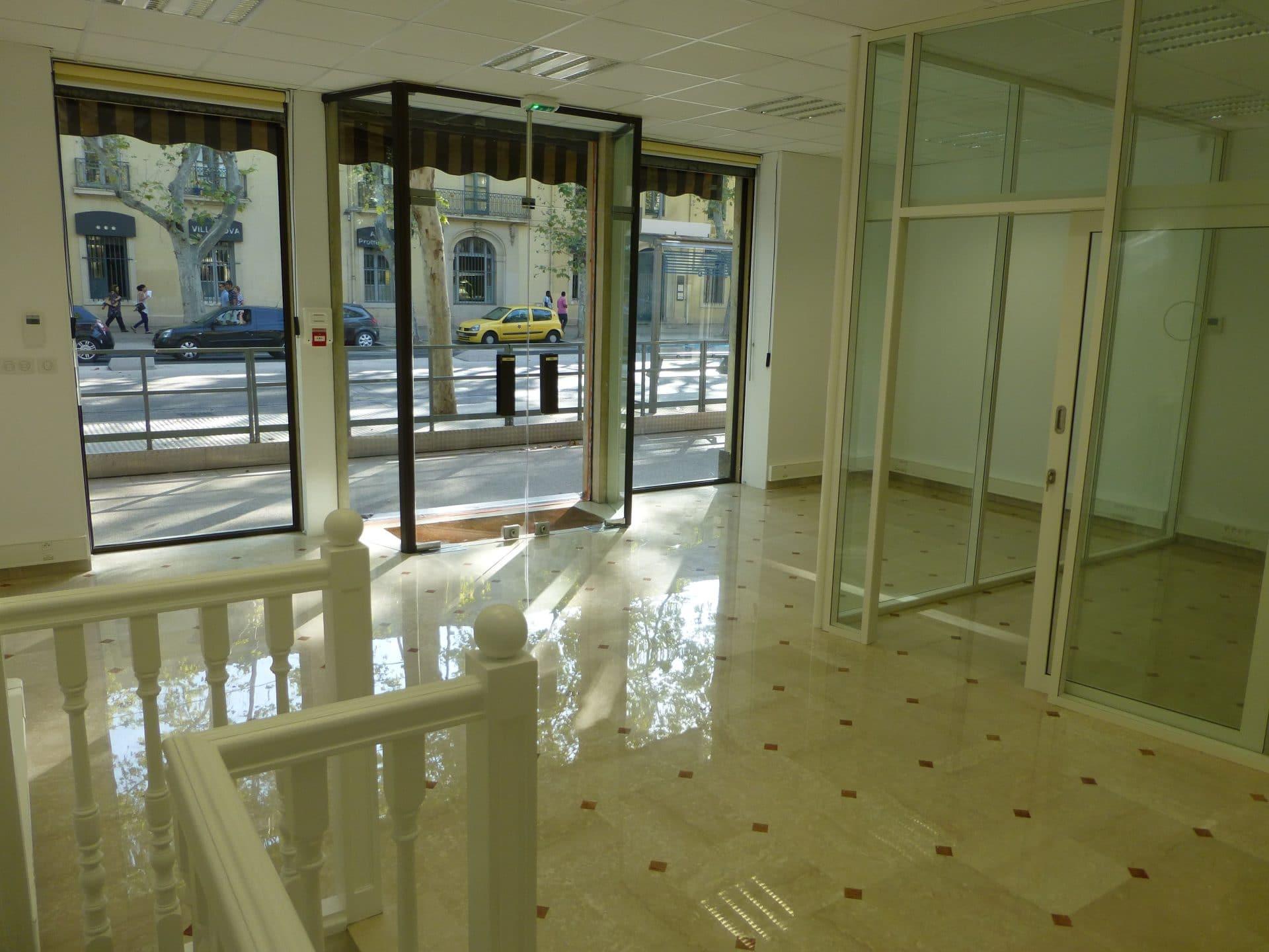 Rénovation complète d'un local commercial à Montpellier (34)
