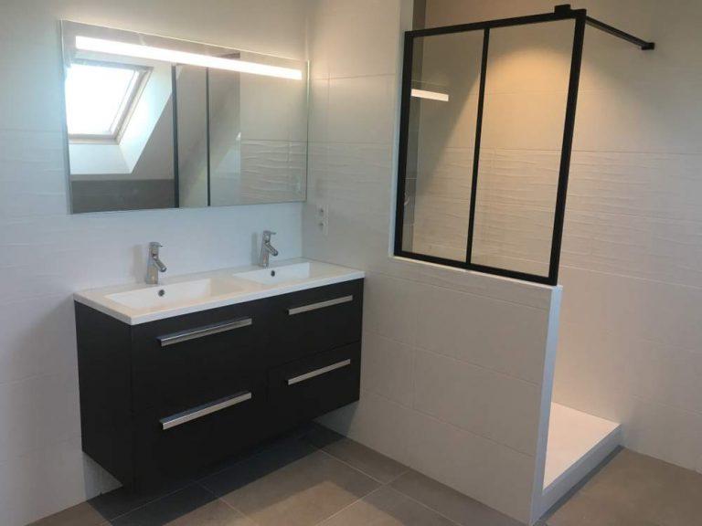 Rénovation de salles de bains dans une maison d'Azay-sur-Cher (37)