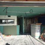 transformation garage en studio - avant travaux