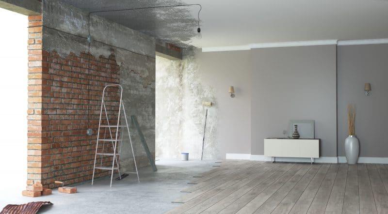 travaux de renovation changement avant / après travaux