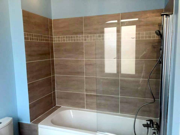 Rénovation d'une salle de bain à Roubaix