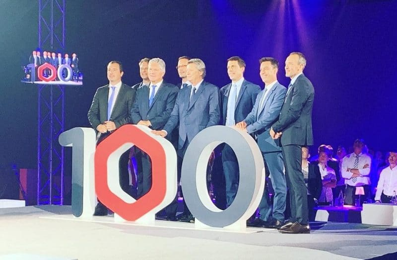 100 ans groupe Hexaôm