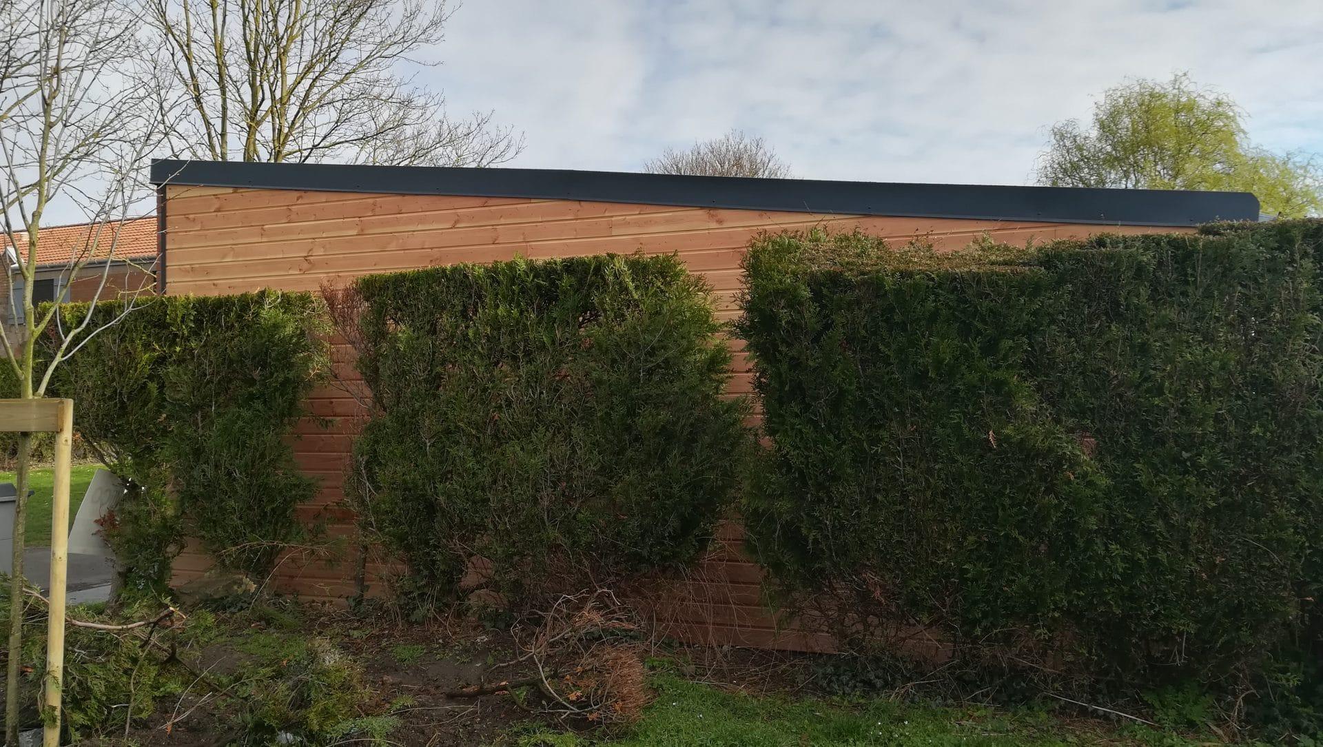 Construction d'un garage à Croix (59)
