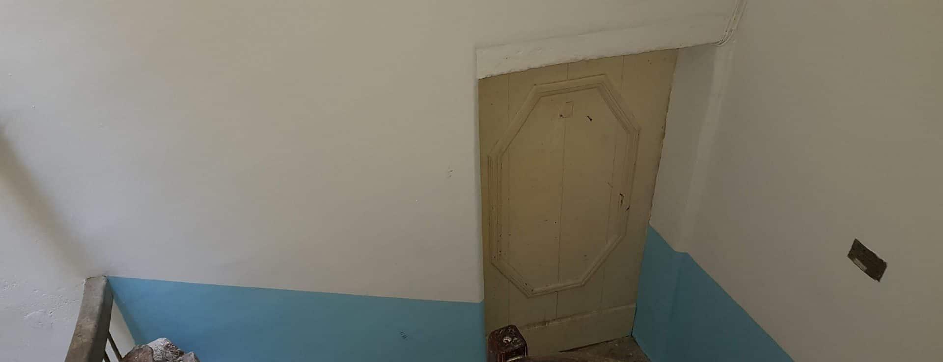 Rénovation d'un couloir et bas de cage d'escalier à Toulouse (31)