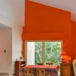 salle à manger séjour d'une maison rénovée à Saint-Clément-de-Rivière Montpellier