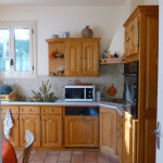 ancienne cuisine avant rénovation Saint-Clément-de-rivière Montpellier