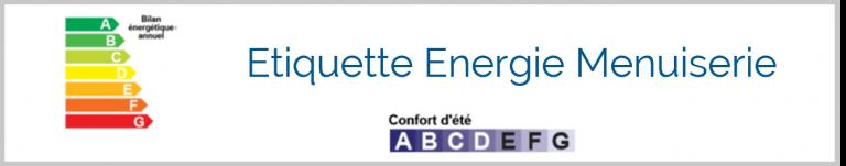 Focus sur : l'Etiquette Energie Menuiserie