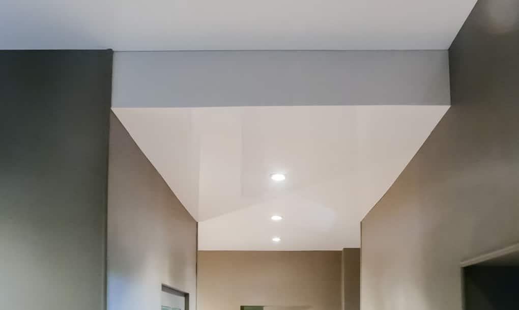 Plafond avec toile tendu