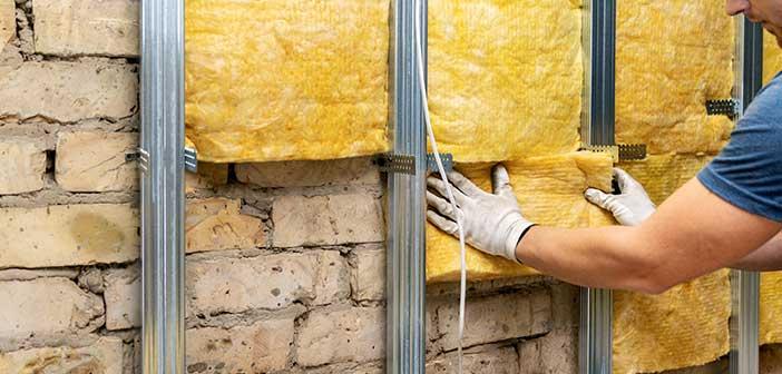 rénovation des murs isolation intérieur