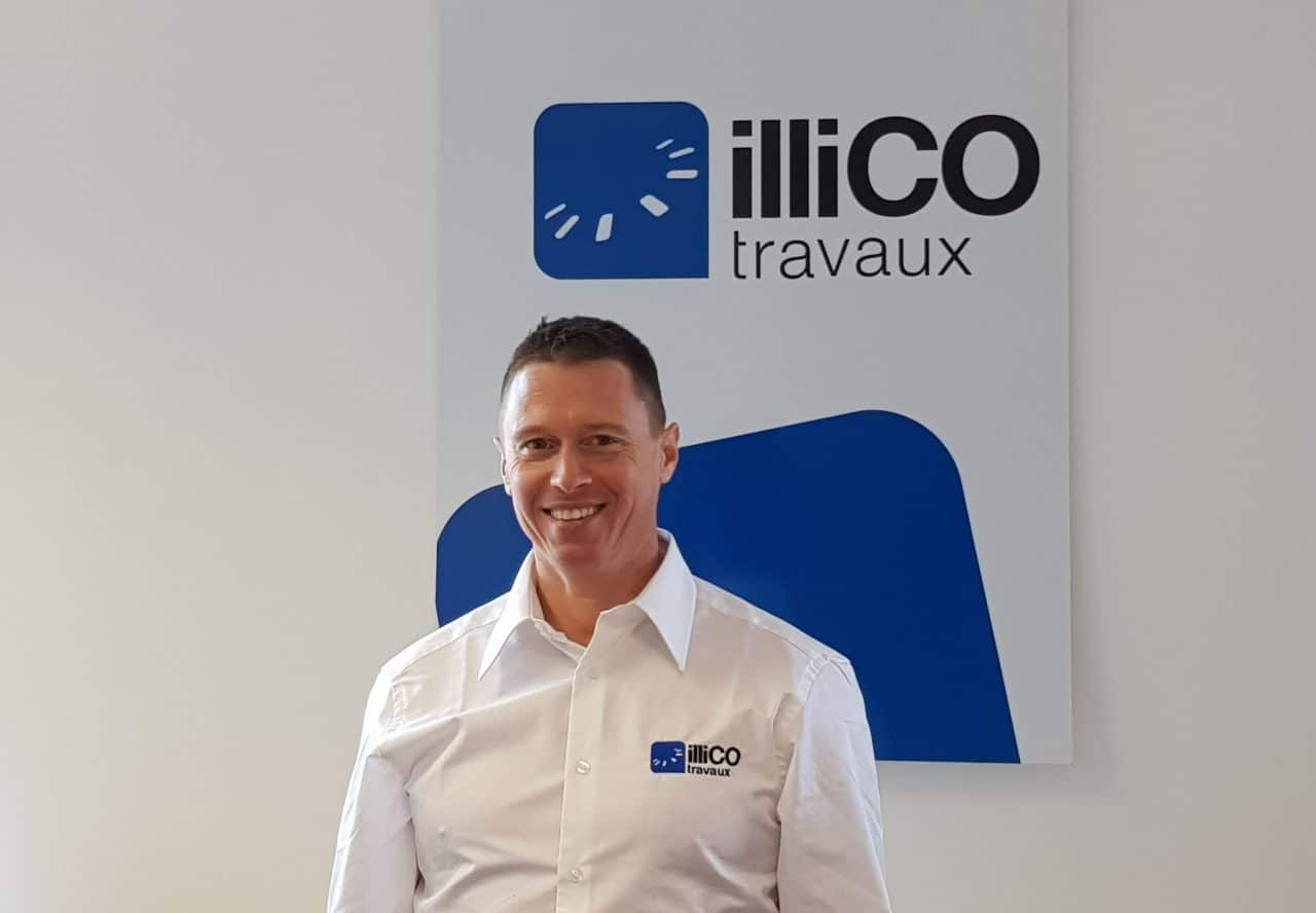Laurent Tereygeol responsable de l'agence illiCO travaux Toulouse Sud Ouest