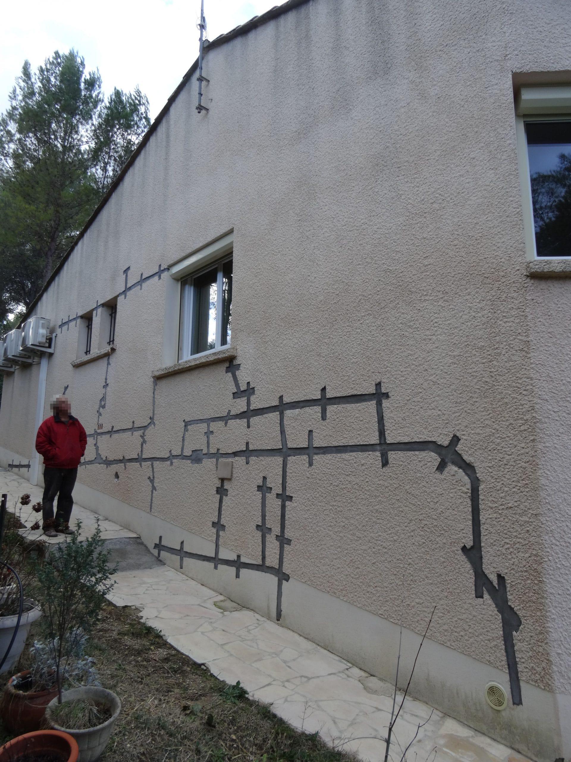 Ravalement de façade de maison à Saint-Clément-de-Rivière (34)
