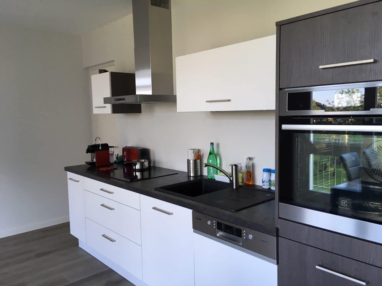 rénovation appartement cuisine Vannes