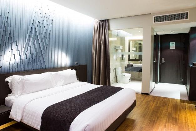 rénovation chambre d'hôtel