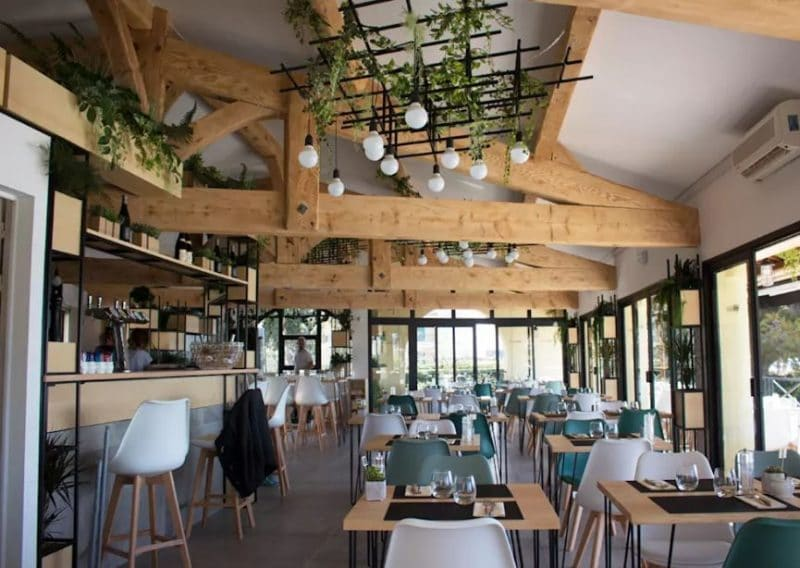 rénovation et aménagement d'un restaurant