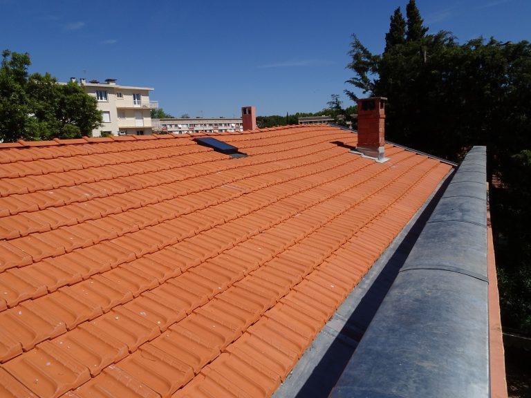 Rénovation d'une toiture à Montpellier (34)
