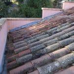 renovation toiture tuile maison avant travaux Montpellier