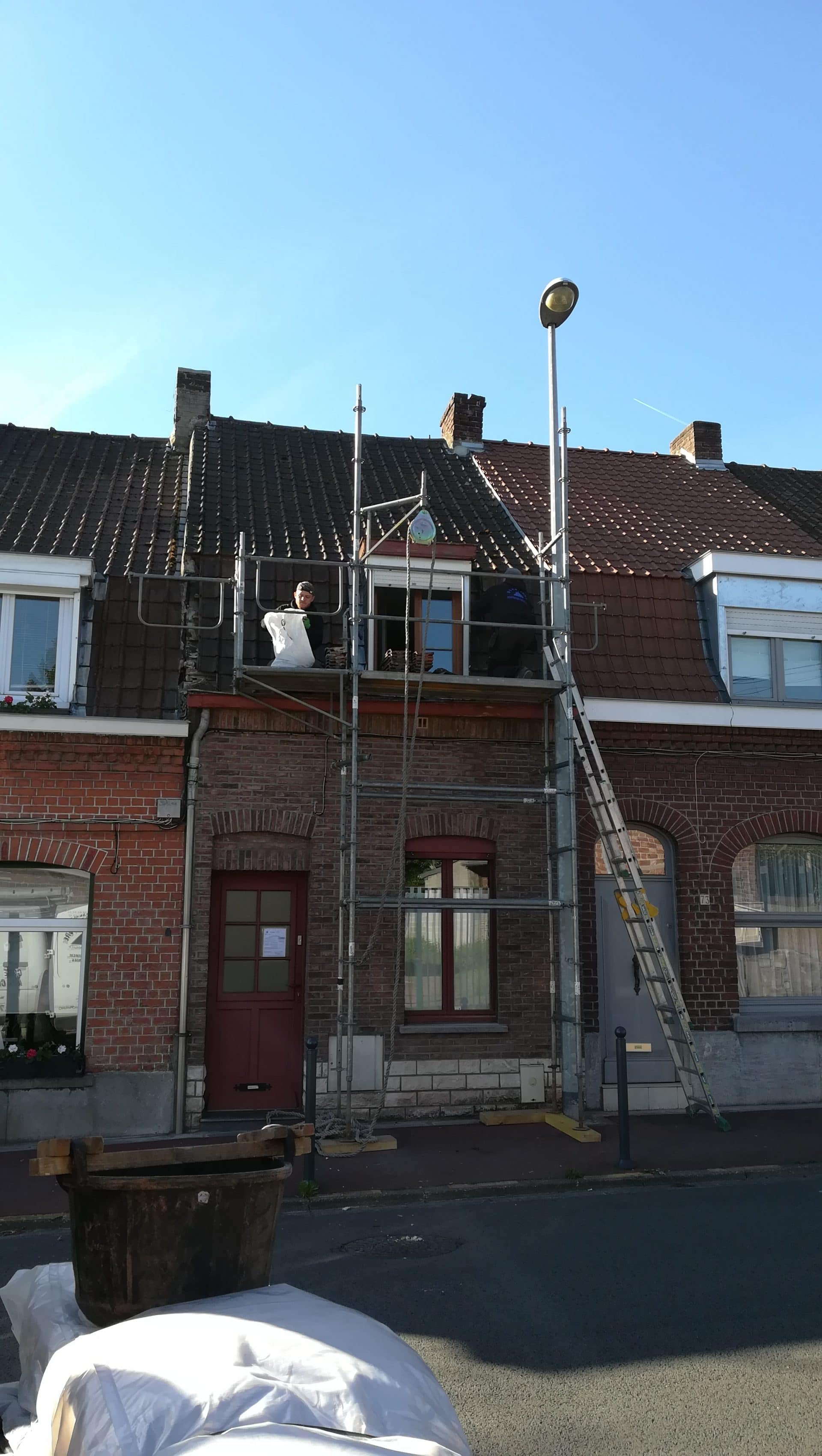 Rénovation toiture et ITE à Tourcoing (59)