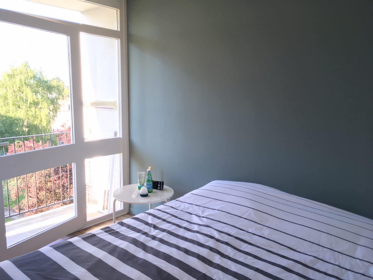 rénovation appartement chambre peinture Vannes