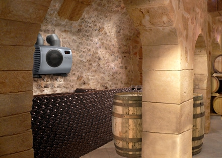 rénovation ventilation cave